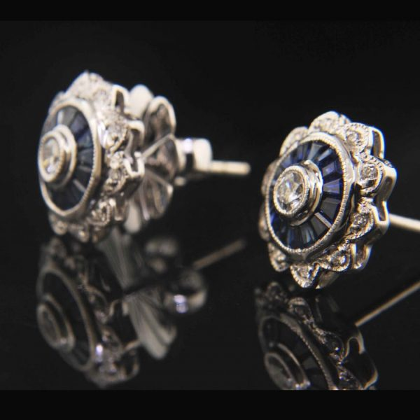 DecoDiamondandSapphireEarrings1