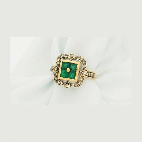 Emerald-Diamond-Princess-Cut-Ring1