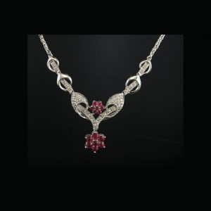 Italian Diamond Necklace