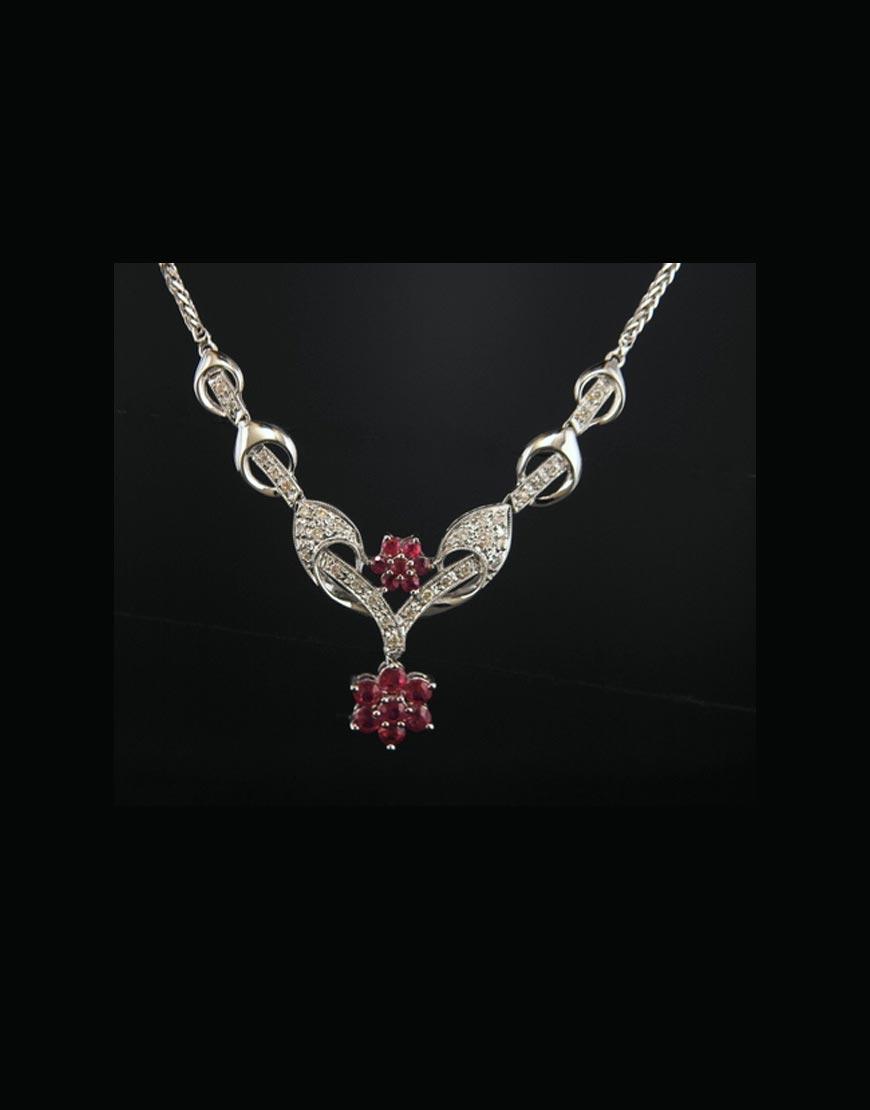 italian diamond necklace romantic jewelers online store