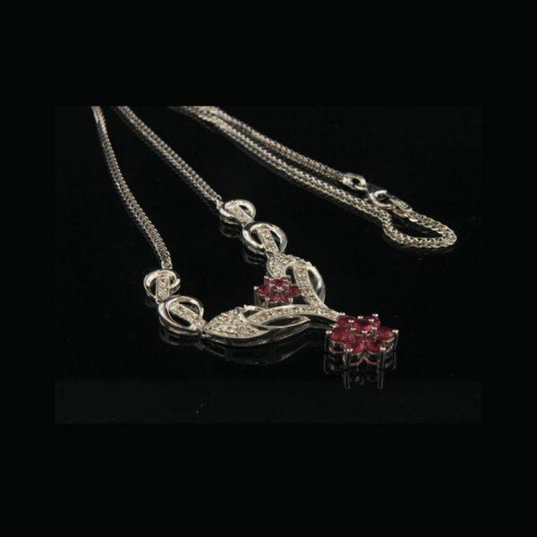 Italian Diamond Necklace